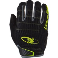 Lizard Skins Monitor AM Gloves - Jet Black/Neon