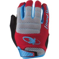 Lizard Skins Monitor AM Gloves - Crimson/Electric Blue