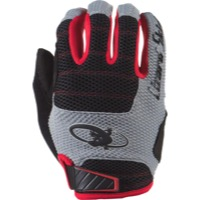 Lizard Skins Monitor AM Gloves - Jet Black/Crimson