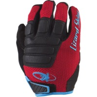 Lizard Skins Monitor HD Gloves - Crimson/Black