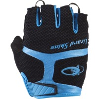 Lizard Skins Aramus GC Gloves - Jet Black/Electric Blue