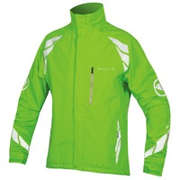 Endura Luminite DL Cycling Jacket - Hi-Viz Green