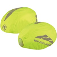Endura Luminite Helmet Cover With LED - Hi-Viz Yellow