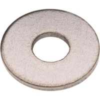 Steel Metric Flat Fender Washers