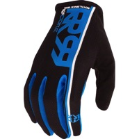 Royal Racing Core Gloves - Black/Electric/Blue