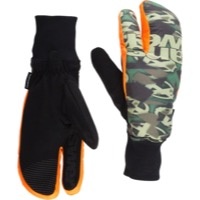 Answer Sleestak Cold Weather Mitts - Camo/Orange