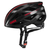Uvex IVO Race Helmet - Shiny Black