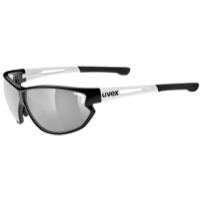 Uvex 810 Sportstyle Sunglasses - Black/White