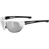 Uvex 810 Sportstyle Sunglasses - White/Black