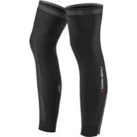 Louis Garneau Wind Pro Zip Leg Warmers - Black