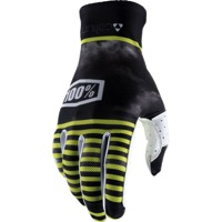 100% Celium Gloves - Dusted Lime