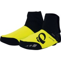 Pearl Izumi P.R.O. Softshell WxB Shoe Covers - Black/Screaming Yellow
