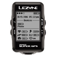 Lezyne Super Loaded GPS Cycling Computer