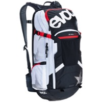EVOC FR Trail Unlimited Protector Backpack - Black/White