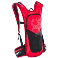 EVOC CC 3 Race Hydration Pack - Red/Black