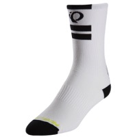 Pearl Izumi Elite Tall Socks 2017 - PI Core White