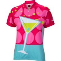 World Jerseys Martini Time Jersey - Red/Blue/White