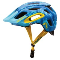 7iDP M-2 Helmets - Blue Camo/Yellow