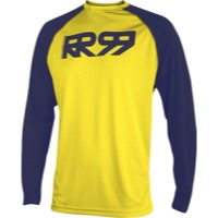 Royal Core LS Jersey - Yellow/Navy