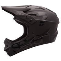 7iDP M-1 Full Face Helmet - Matte/Black Gloss