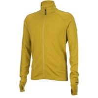 Surly Merino Wool Long Sleeve Jersey - Dried Mustard Yellow