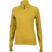 Surly Merino Wool Women's Long Sleeve Jersey - Dried Mustard Yellow