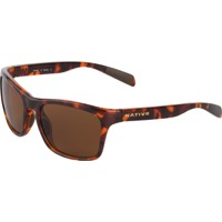 Native Penrose Sunglasses - Maple Tortise With Brown Lens