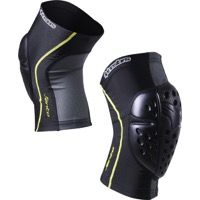 Alpinestars Vento Knee Guards - Black/Acid Yellow