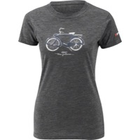Louis Garneau 1960 Mill Women's T-Shirt - Charcoal Heather