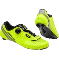 Louis Garneau Carbon LS-100 II Men's Shoes - Bright Yellow/Black