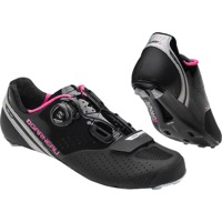 Louis Garneau Carbon LS-100 II Women's Shoes - Black/Pink