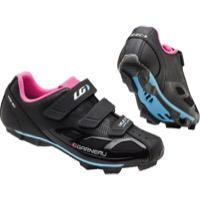 Louis Garneau Multi Air Flex Women's Shoes - Black/Pink