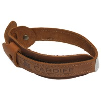 Cardiff Leather Trouser Bands