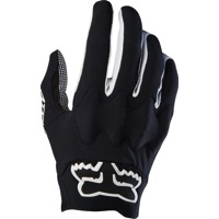 Fox Racing Attack Men's Full Finger Gloves 2017 - Black/White