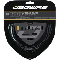 Jagwire Road Elite Link Derailleur Cable Set - Ultra-slick Polished Inner Cables