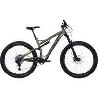 Salsa Pony Rustler Carbon GX1 27.5+ Complete Bike - Dark Green