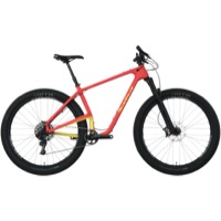 Salsa Woodsmoke Carbon X01 29+ Complete Bike - Red/Yellow