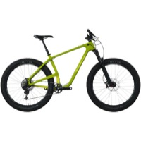 Salsa Woodsmoke Carbon X01 27.5+ Complete Bike - Green/Yellow