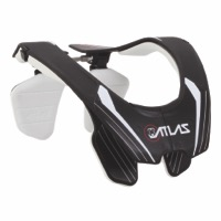 Atlas Carbon Neck Brace - Whiteout