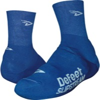 Defeet Slipstream Booties - Blue/White Logo