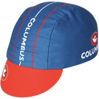 Pace Columbus Peace Cycling Cap - Blue/Orange