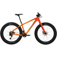 Salsa Beargrease Carbon GX Complete Bike 2017 - Red/Orange Fade