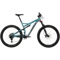 Salsa Pony Rustler Alloy GX1 27.5+ Complete Bike - Blue