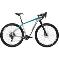 Salsa Cutthroat Carbon Force 1X Complete Bike 2017 - Grey/Teal