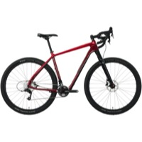 Salsa Cutthroat Carbon Rival 22 Complete Bike 2017 - Red/Dark Red