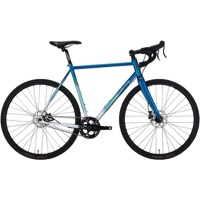 All-City Nature Boy 853 Disc Complete Bike - Teal/White Fade