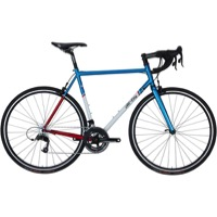 All-City Mr. Pink Complete Bike - Aqua/Red/White