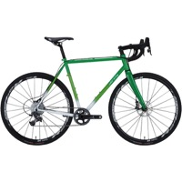 All-City Macho King Limited Disc Complete Bike - Green/White