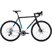 All-City Macho King Disc Complete Bike - Black/Teal Fade