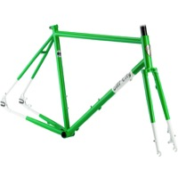 All-City Nature Boy Disc Frameset 2017 - Green/White